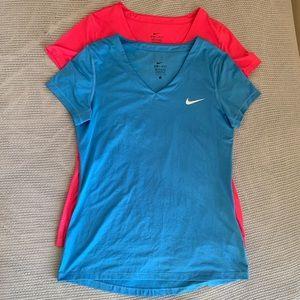 Nike Dri-Fit V-necks